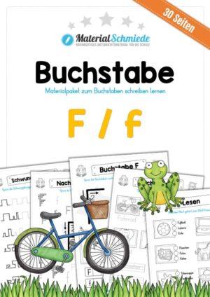 Materialpaket: Buchstabe F/f schreiben lernen