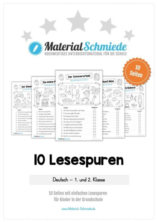10 Lesespuren (MaterialPaket 01)