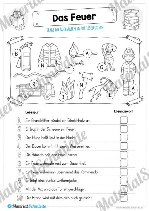 10 Lesespuren (MaterialPaket 01) - Vorschau 02