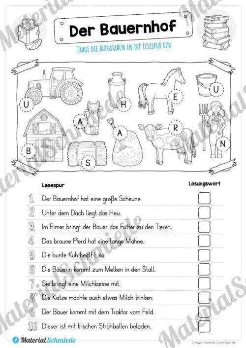 10 Lesespuren (MaterialPaket 01) - Vorschau 03