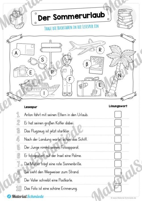 10 Lesespuren (MaterialPaket 01) - Vorschau 04