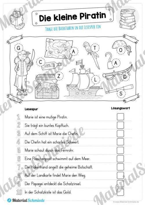 10 Lesespuren (MaterialPaket 01) - Vorschau 05