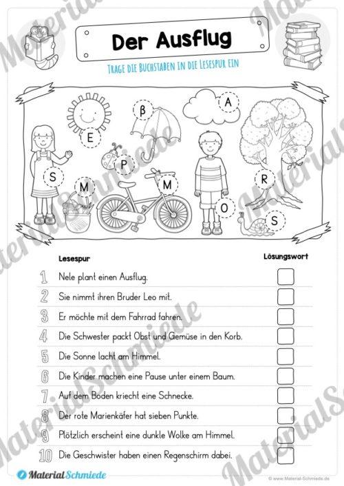 10 Lesespuren (MaterialPaket 01) - Vorschau 08