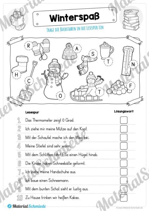 10 Lesespuren (MaterialPaket 01) - Vorschau 10