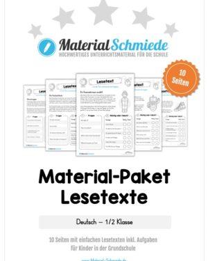 Materialpaket Lesetexte