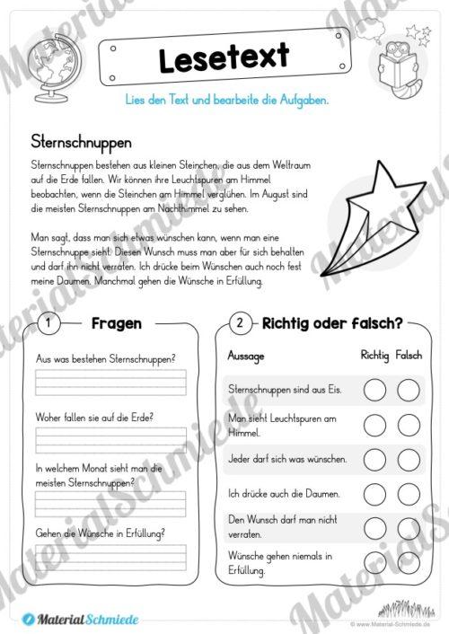 Materialpaket Lesetexte (Vorschau 03)