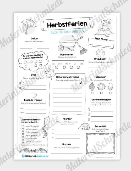 Steckbrief Herbstfgerien (Variante 02)