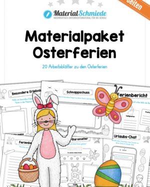 Materialpaket Osterferien: 20 Arbeitsblätter