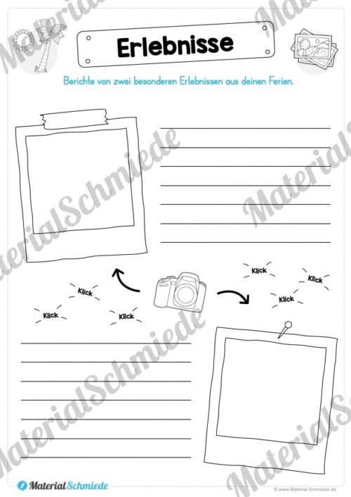 Sommerferien Materialpaket (Vorschau 02)