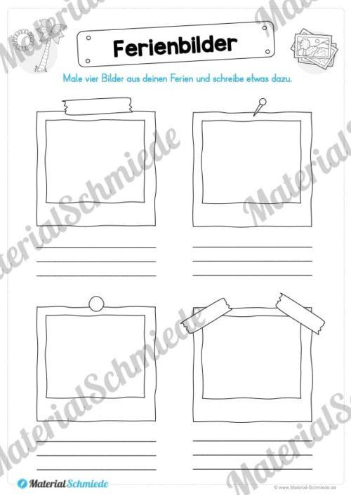 Sommerferien Materialpaket (Vorschau 05)