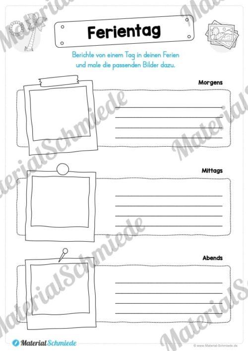 Sommerferien Materialpaket (Vorschau 06)