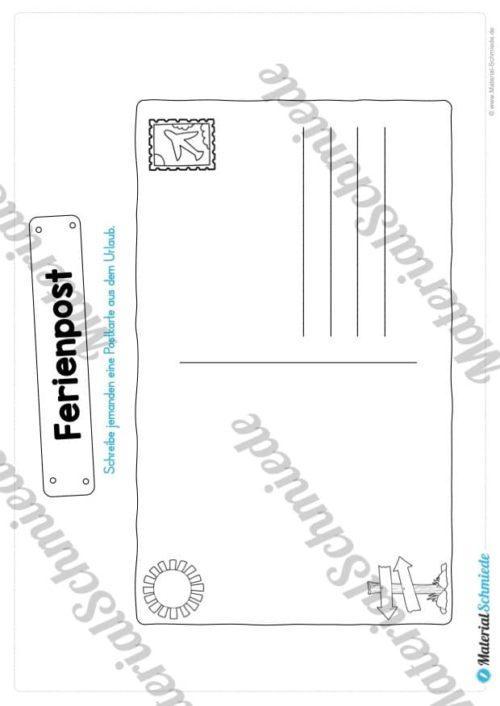 Sommerferien Materialpaket (Vorschau 11)