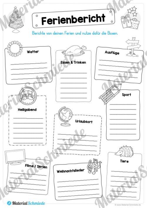 20 Arbeitsblätter zu den Weihnachtsferien (Vorschau 04)
