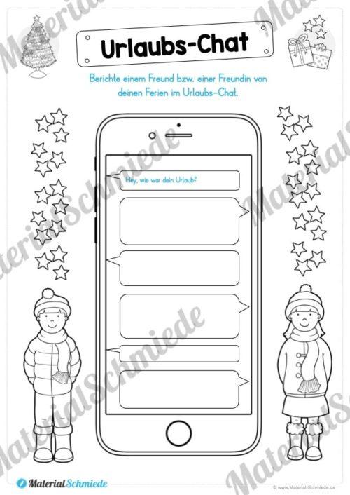 20 Arbeitsblätter zu den Weihnachtsferien (Vorschau 06)