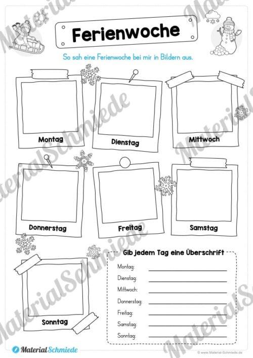 20 Arbeitsblätter zu den Winterferien (Vorschau 01)