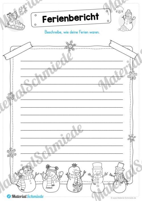 20 Arbeitsblätter zu den Winterferien (Vorschau 04)