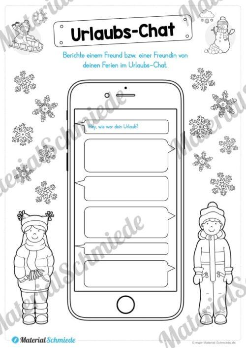 20 Arbeitsblätter zu den Winterferien (Vorschau 05)