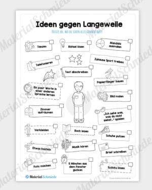 Homeschooling - Ideen gegen Langeweilung (für Jungs)