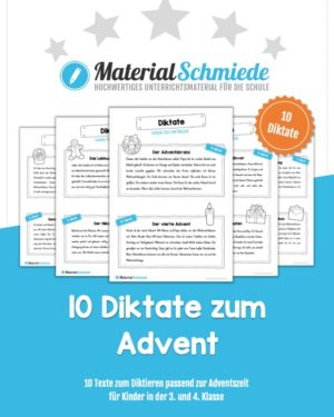 10 Diktate zum Advent