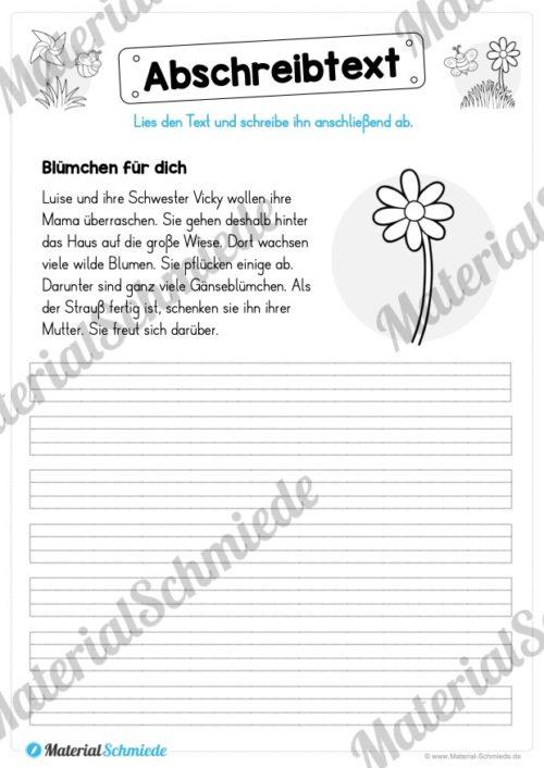 10 Abschreibtexte zum Frühling (Vorschau 03)