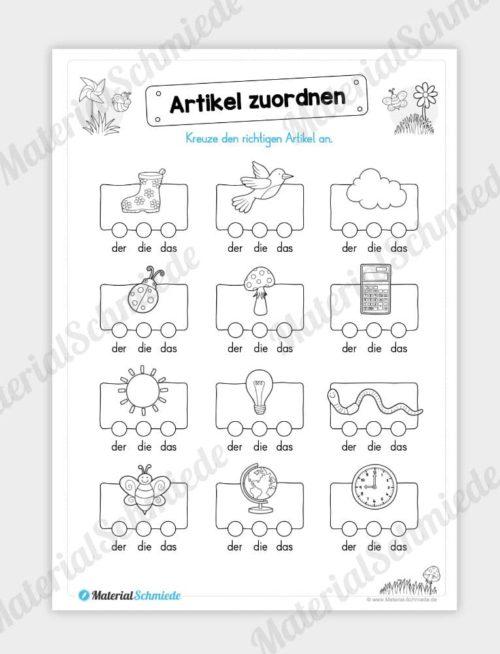 Materialpaket Frühling: Deutsch (1/2 Klasse) - Vorschau 07