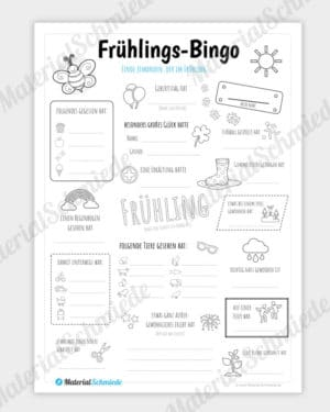 Bingo Frühling