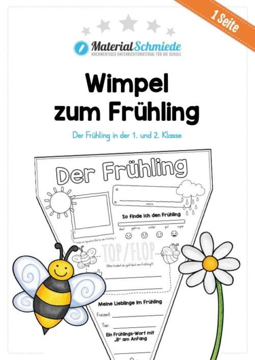 Wimpel Frühling