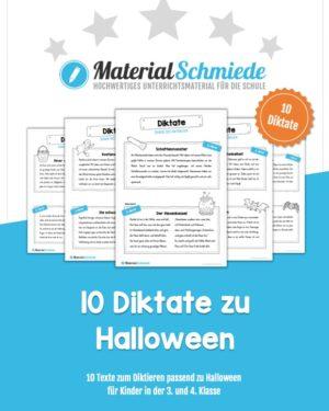 10 Diktate zu Halloween