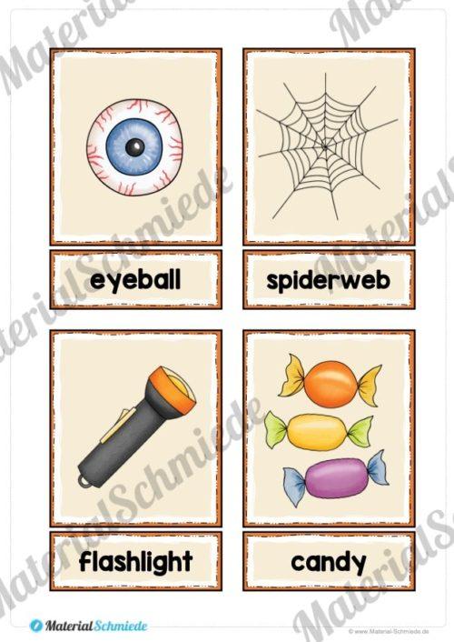20 englische Flash-Cards zu Halloween (Vorschau 04)