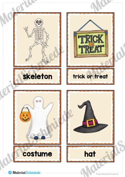20 englische Flash-Cards zu Halloween (Vorschau 05)