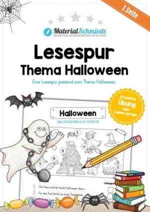 Lesespur Halloween