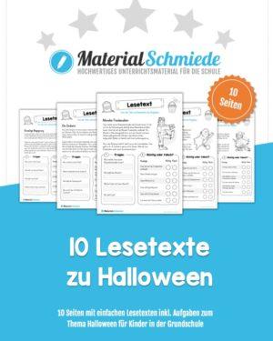 10 Lesetexte zu Halloween