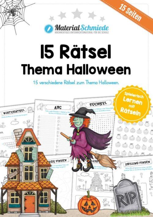 15 Rätsel zu Halloween