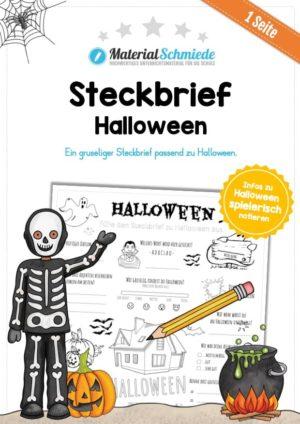 Steckbrief Halloween