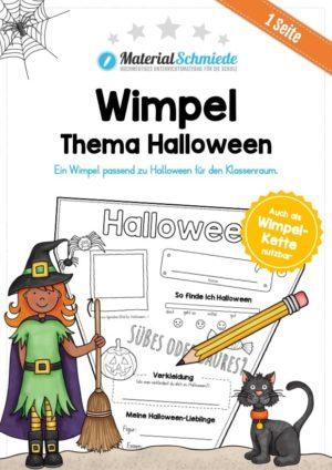Wimpel Halloween
