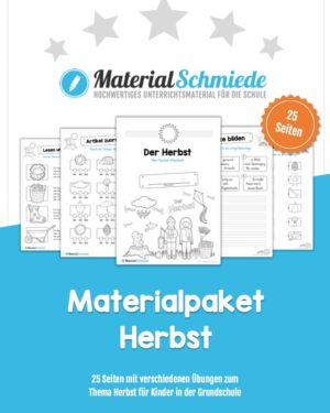 MaterialPaket Herbst (25 Arbeitsblätter)