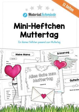 Mini-Heftchen zum Muttertag