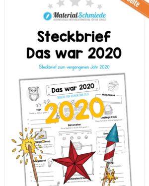 Steckbrief: Das war 2020 (Vorschau)
