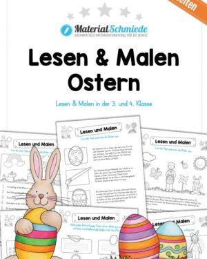 Lesen & Malen zu Ostern