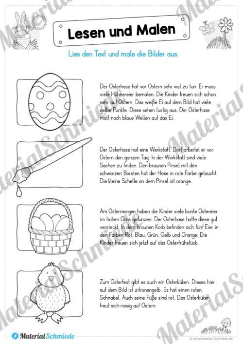 Lesen & Malen zu Ostern (Vorschau 02)