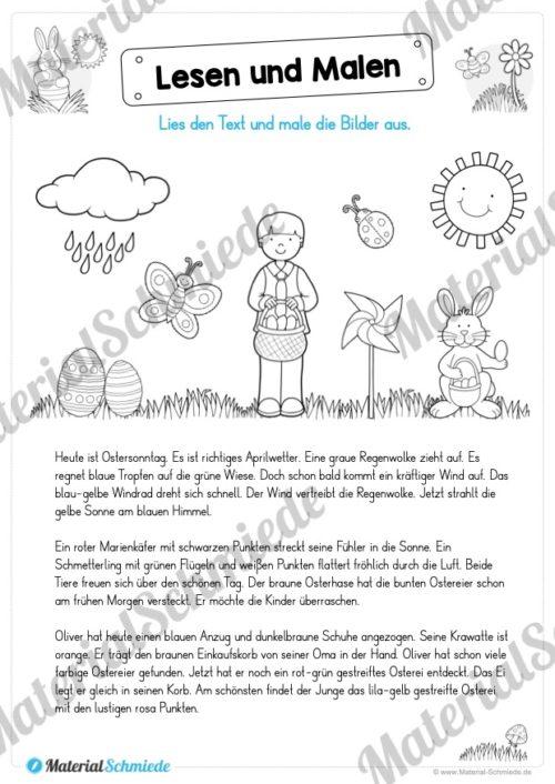 Lesen & Malen zu Ostern (Vorschau 03)