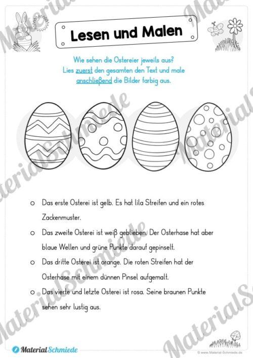 Lesen & Malen zu Ostern (Vorschau 06)