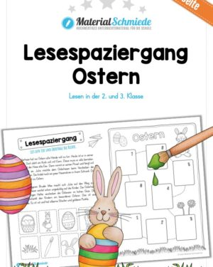 Lesespaziergang Ostern