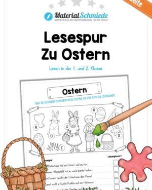 Lesespur zu Ostern