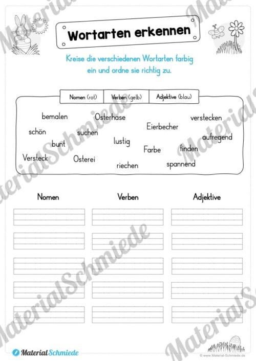 Materialpaket Ostern: Deutsch (1/2 Klasse) - Vorschau 04