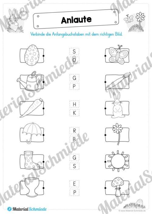 Materialpaket Ostern: Deutsch (1/2 Klasse) - Vorschau 05