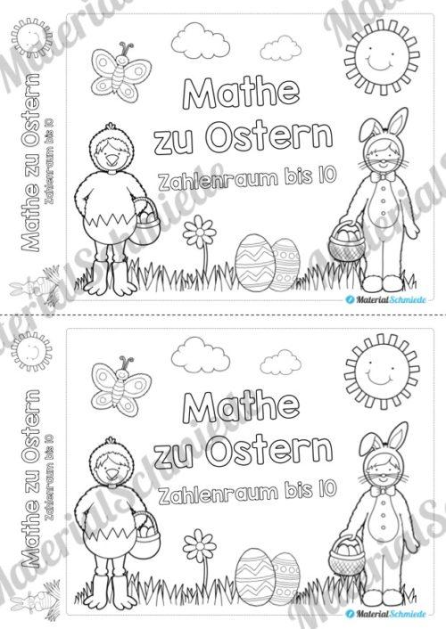 Mathe Übungen Ostern - Zahlenraum bis 10 (Vorschau 01)