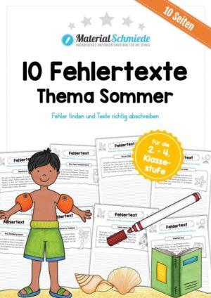 10 Fehlertexte zum Sommer