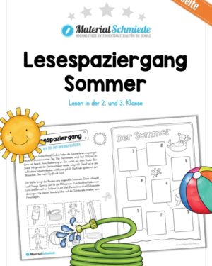 Lesespaziergang Sommer