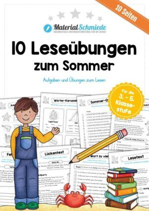 10 Leseübungen zum Sommer